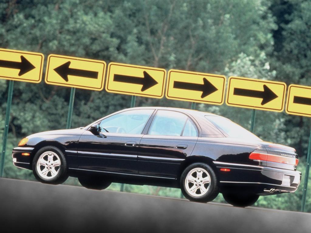 Cadillac Catera Schwarz Sign X