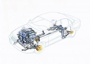 Cadillac-Catera-Antrieb
