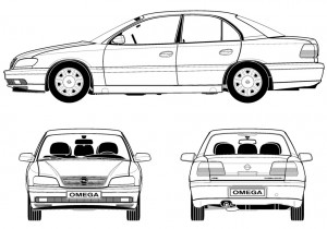 Omega-FL-Limousine-Zeichnung