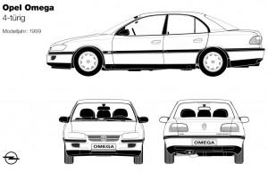 Omega-VFL-Limousine-Zeichnung