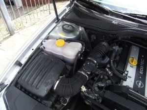 Omega-Motorraum