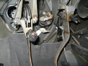 Astra-F-Tempomat-Kupplungsschalter